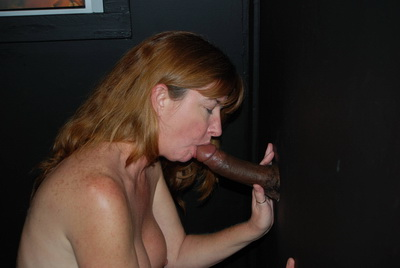 Dee is a glory hole cock slut